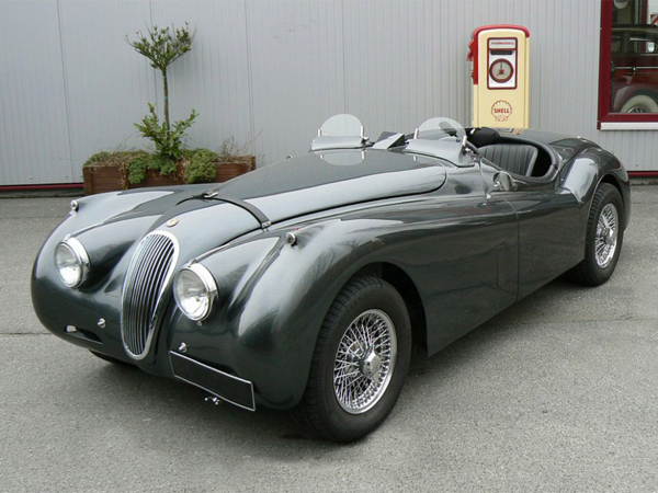 Competition Jaguar XK 120 Spec
